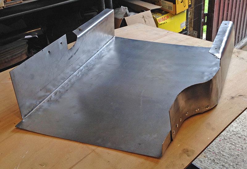 Under tray